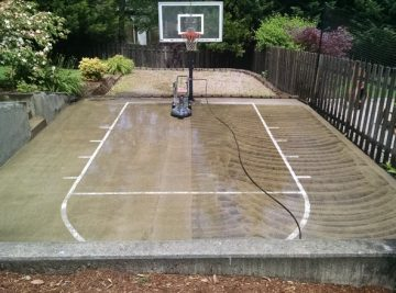 Betts Family Sport Court | Clean-Coat Portland, OR