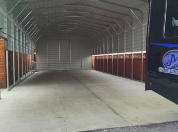 JMI Limousine Bus Storage | Clean-Coat Portland, OR